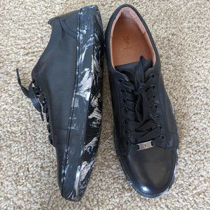 Frye Ivy Low Lace Leather Sneaker